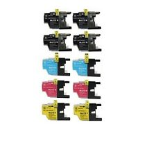 10PK New Hi-Yield Ink For Brother LC75 LC71 MFC-J280W J425W J430W J825DW J6510DW