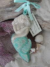 AQUA BEACH MERMAID SAND ORNAMENT TROPICAL