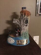 Jim Beam Ducks Unlimited 1975 Whiskey Decanter