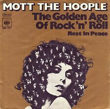 "7"" Mott The Hoople – The Golden Age Of Rock'n Roll // Germany 1974"