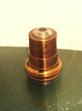 Vintage Bausch and Lomb 10X Apochromat Microscope Objective