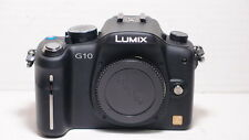 Panasonic Lumix DMC-G10 12.1 MP Fotocamera Digitale-Nero - (Solo Corpo)