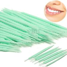 150pcs Japanese Plastic 2-way Oral Dental Picks Tooth Pick + Interdental Brush
