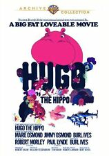 HUGO THE HIPPO (Marie Osmond, Burl Ives)  -  Region Free DVD - Sealed