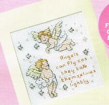 Stitchers' Sayings. Cross Stitch pattern from magazine - ANGELS CAN FLY