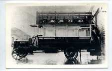 (Lm375-347) Real Photo of London Metropolitan Steam Omnibus Co,  Leyland,
