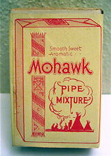 1940's Weisert Mohawk Pipe Tobacco Sample Box Old Stock