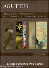 Catalogue de Vente ATELIER ERNEST QUOST Tableau Peinture Aguttes 2009