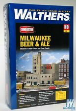 3024 Walthers Milwaukee Beer & Ale Brewery Factory Warehouse HO Scale