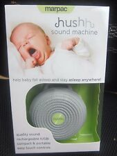NEW Marpac Hushh for Baby, Portable  Noise Sound Machine, Gray C116603A