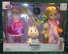 Disney LE Animators' Collection Deluxe Doll Gift Set Princess Rapunzel NEW!