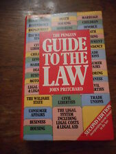The Penguin Guide To The Law John Pritchard Hardback Book