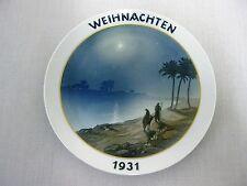 14182/ ROSENTHAL - WEIHNACHTSTELLER 1931 - HEINRICH FINK