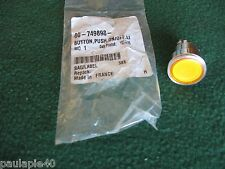 NEW OEM HOBART DISHWASHER LIGHTED AMBER PUSH BUTTON SWITCH 00-749898