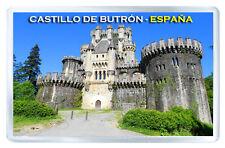 CASTILLO DE BUTRON VIZCAYA ESPAÑA FRIDGE MAGNET SOUVENIR IMAN NEVERA