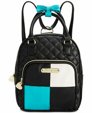 NWT Betsey Johnson Black Multi Convertible Backpack - SOLD OUT EVERYWHERE !!!