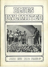 BLUES UNLIMITED No 73 June 1970 Ishman Bracey Willie Cobbs Earl Hooker