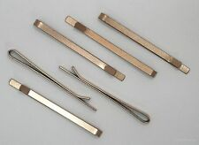 #9052 ANTIQUED GOLD BOBBY PIN COMPONENT - 6 Pc Lot