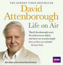 DAVID ATTENBOROUGH - LIFE ON AIR  16 CD'S -  REVISED AUDIO BOOK - NEW/SEALED