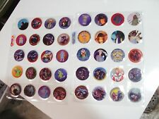 POGS SAMURAI SYBER SQUAD ( POWER RANGERS?) COMPLETE SET OF ALL 40 IN PAGES