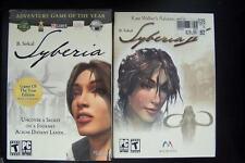 Syberia 1 & 2 PC CD Software Rare Game Windows