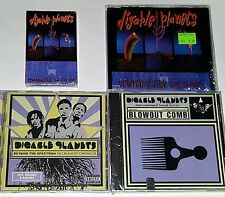 DIGABLE PLANETS 4 SEALED CD LOT IMPORT GIANT STEP REMIX TAPE CASSETTE og lp 12""