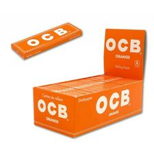 Cartine OCB Corte ORANGE Arancioni 50 pz 1 Box