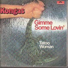 12976 KONGAS  GIMME SOME LOVIN  TATOO WOMAN