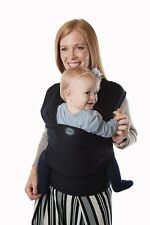 Authentic MOBY BAMBOO Baby Wrap/Carrier/Sling-BLACK-Great for newborns!