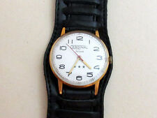 Zarija DAWN CARDINAL de luxe USSR men's vintage mechanical wristwatch