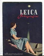 Leica Fotografie Magazine September/October 1951 Frankfurt VGEX 033017lej