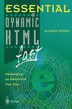Essential Dynamic Html fast: Developing an Interactive