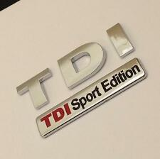 NEW TDI SPORT EDITION Badge Emblem For VW GOLF POLO LUPO PASSAT EOS TRANSPORTER