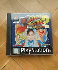 STREET FIGHTER COLLECTION 2- PSX PS1 PS ONE PLAYSTATION- PAL