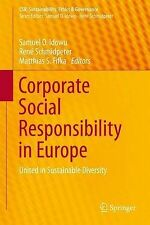 Corporate Social Responsibility in Europe: United in Sustainable Diversity (CSR,