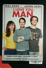 I LOVE YOU MAN PAUL RUDD JASON SEGEL MINI POSTER BACKER CARD (NOT a movie )