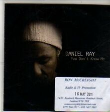 (CA940) Daniel Ray, You Don't Know Me - 2011 DJ CD