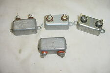 4 misc lot Oil Capacitors Tube Amps
