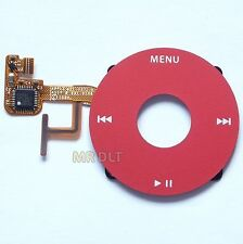 New Red iPod Video U2 Clickwheel Click Wheel Scroll For 30GB 60GB 80GB - UK