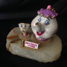 Disney Ron Lee Beauty And The Beast MRS. POTTS And CHIP 1993 Figurine