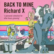 Richard X -  Back to Mine - excellent mixCD comp - Brand New from DMC