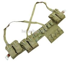 WWII VIETNAM WAR CHINESE POUCH CHEST-RIG BANDOLIER MAG AMMO POUCH