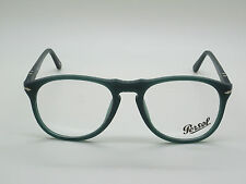 New Authentic PERSOL 9649-V 9019 Matte Ossidiana Green RX 52mm Eyeglasses
