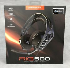 Plantronics RIG 500 Stereo Gaming Headset for PC XBOX PLAYSTATION *FREE P&P UK*
