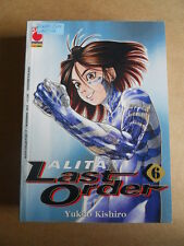 ALITA LAST ORDER Vol.6 - Alita Collection Planet Manga  [G370P]*