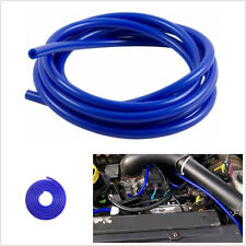 Car Off-Road 4mm Blue Silicone Vacuum Hose Boost Water Air Coolant Pipe Tube 5m