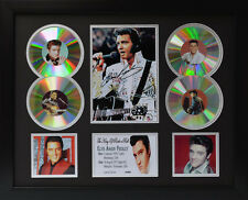 Elvis Presley v2 Signed Limited Edition Framed Memorabilia (b)
