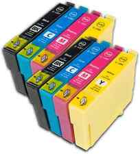 8 T1285 non-OEM Ink Cartridges For Epson T1281-4 Stylus S22 SX125 SX130 SX230