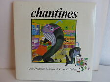 Livre disque Chantines FRANCOISE MOREAU / FRANCOIS IMBERT 100119