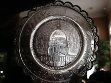 Pairpoint Cup Plate The United States Capitol Good Condition